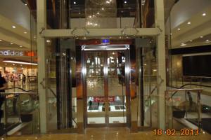 Лифтовые порталы из нержавеющей стали